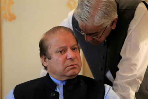 Ex-Pakistan PM Sharif Sentenced to 7 Years in Prison for Graft