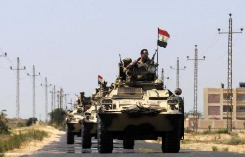 Egypt Holds Hearing in Trial of 213 'Wilayat Sinai' Terrorists