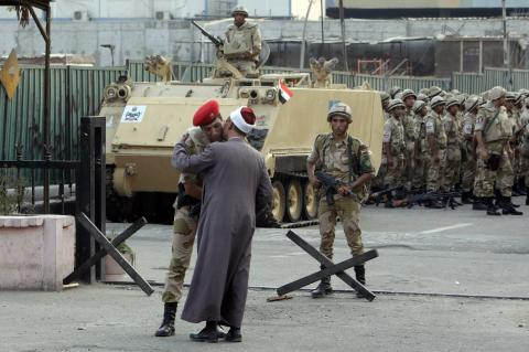 On Jan. 25 Revolution Anniversary, Egypt Bolsters Security at Squares