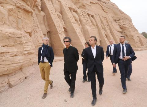 Macron in Egypt, Hopes to Garner Support for his Stance on Libya