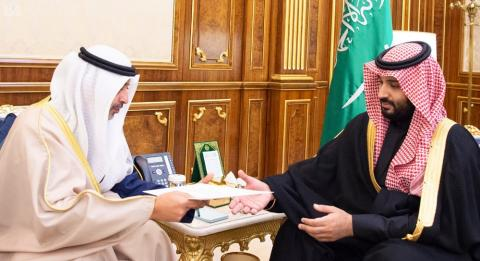 Saudi Crown Prince Receives Message from Emir of Kuwait