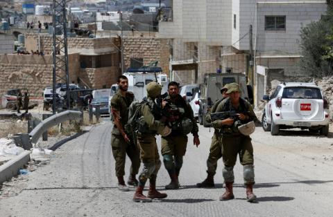 Palestinians Patrol in Place of Hebron Monitors