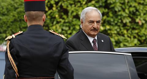 Haftar Rejects Sarraj Proposal for Military, Security Coordination