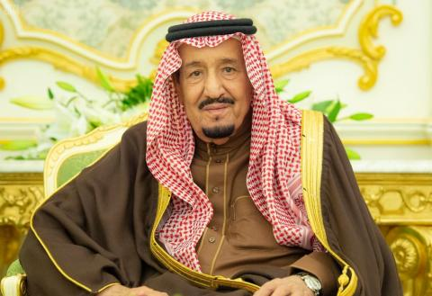 King Salman Presides over Annual Equestrian Race Ceremony