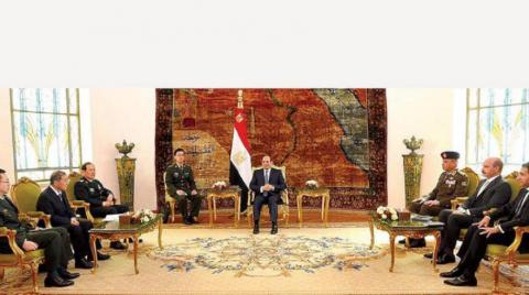 """Sisi Stresses Support for China's """"Belt And Road"""" Initiative"""
