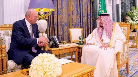 Custodian of the Two Holy Mosques Receives Message from King Abdullah II