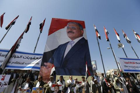 Houthis Lure Saleh's Son to Side with them by Naming him GPC Deputy Chief