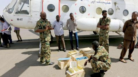 Sudanese Rapid Support Forces Foil Attempt to Smuggle Large Gold Quantities via Helicopter