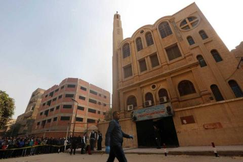Egypt Court Sentences 2 to Death Over Church Attack