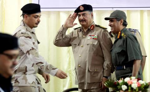 Libyan National Army Calls for Revolt in Tripoli