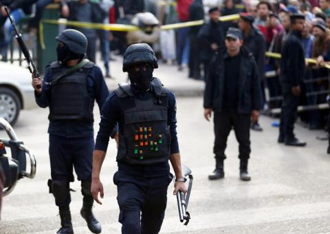 12 Militants Killed in Security Raid in Cairo