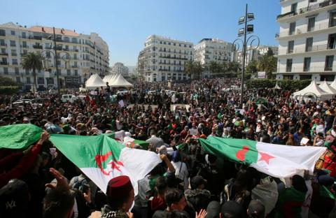 Algeria Army Chief Says Elections Key to Ending Crisis