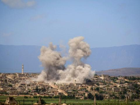 Syrian Opposition Uncovers Maps of Iranian Missiles Caches