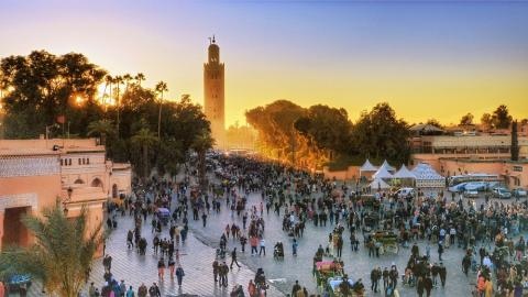 Easter Holiday Revives Tourism Sector in Marrakesh