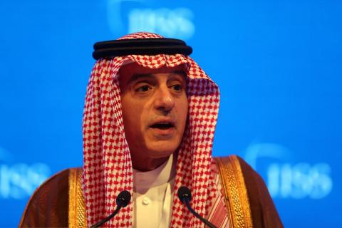 Jubeir: Saudi Arabia Continues to Support Two-State Solution for Palestinians