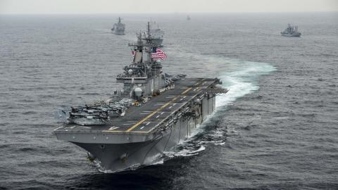 Another US Warship Arrives in Middle East