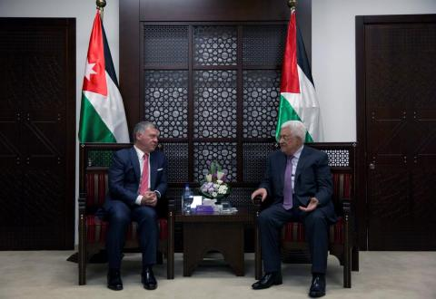 Jordan's King to Abbas: Amman Sticks to Arab Initiative