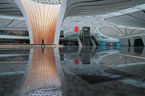 Beijing to Open Airport Designed by Zaha Hadid