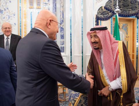Saudi King Underlines Need to Respect Lebanon's Taef Accord