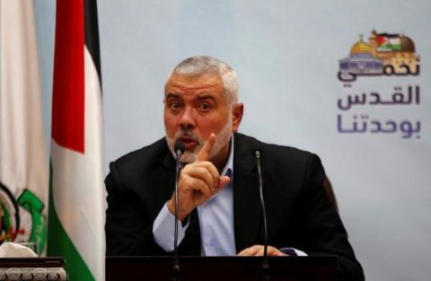 Hamas Chief: We Don't Oppose State within 1967 Borders, But We Won't Recognize Israel