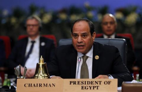 Sisi Congratulates Egypt's Junior Handball Team for Clinching World Championship Bronze