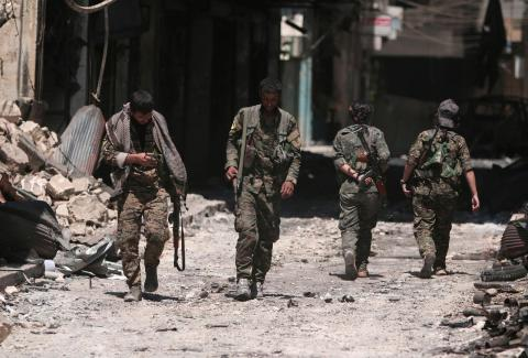 ISIS Vows to Intensify Fight against Int'l Coalition, Kurds