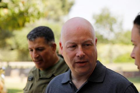 Greenblatt Reaffirms Washington Isn't Looking to Replace PA's Abbas