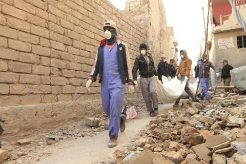 Unidentified Corpses Found in Babel Provoke 'War of Tweets' In Iraq
