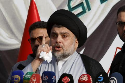 Sadr Warns Iraq PM against Forming 'Deep State'