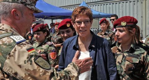 Germany Calls for Extending its Participation in Anti-ISIS Coalition