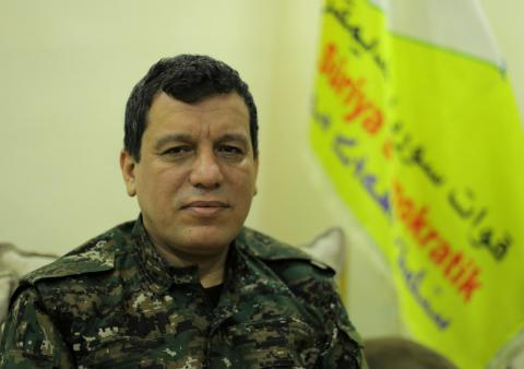 SDF Commander: We Confirm Our Support to US-Turkish Agreement