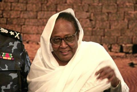 Abdalla, Career Diplomat Turned Sudan's First Female Foreign Minister