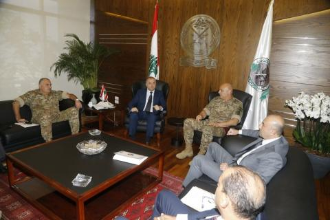 Security Meeting Held in Lebanon to Address Illegal Border Crossings