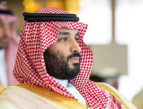 Saudi Crown Prince Receives Telephone Call from Putin