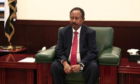 Sudan's New PM Meets with Egyptian President in Cairo