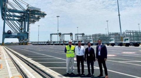 DP World Announces Completing 1st Phase of Developing Deepwater Port in Ecuador
