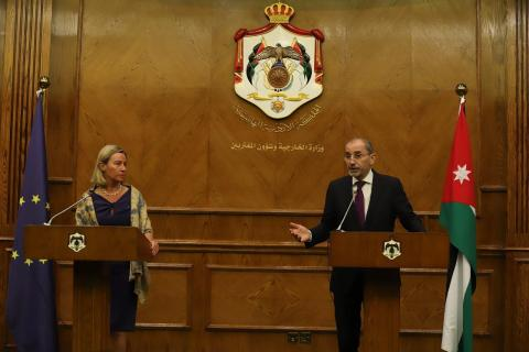 Mogherini: EU Firm in Supporting Two-State Solution