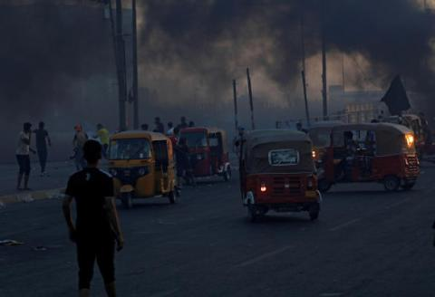 Rescue by Tuk Tuk as Snipers Target Baghdad Protesters