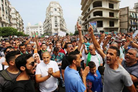 Algerian Army Pledges 'Completely Different' Presidential Elections