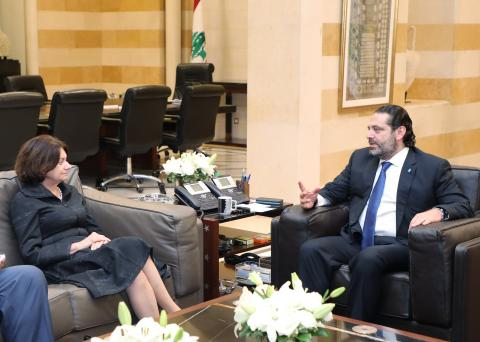 Hariri Reiterates Lebanese Government's Commitment to Dissociation Policy