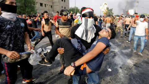 Fears Over New Iraq Force Tasked with Protecting Demonstrators
