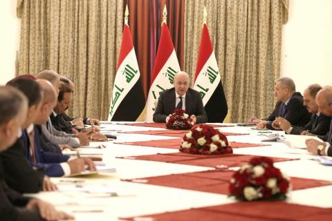 Iraq's President Calls for Electoral Reform, National Dialogue