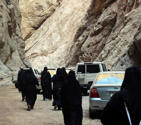NEOM Welcomes First Female Tourist Group