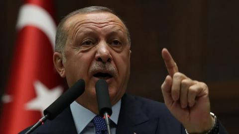 Erdogan Rejects Macron's Call to Extend Ceasefire