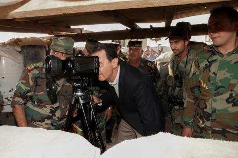 Assad in Idlib to Show Support to Kurds Against Turkish Aggression