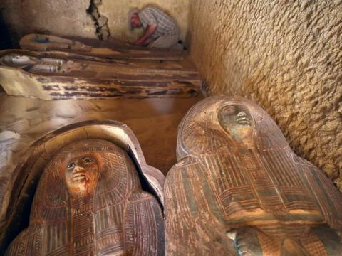 Ancient Roman, Greek Cemetery Discovered in Egypt