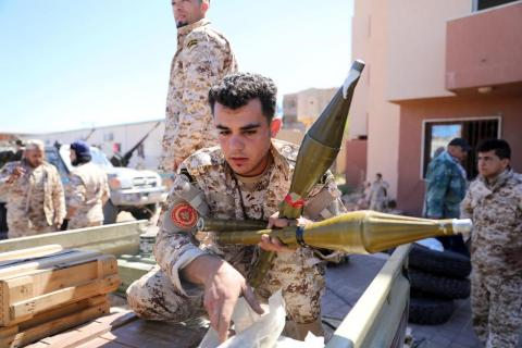 Libyan National Army Targets GNA in Sirte