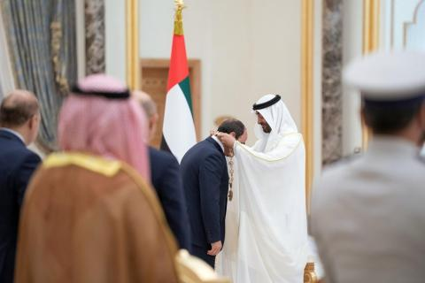 Egypt, UAE Reject Foreign Interventions in Internal Affairs