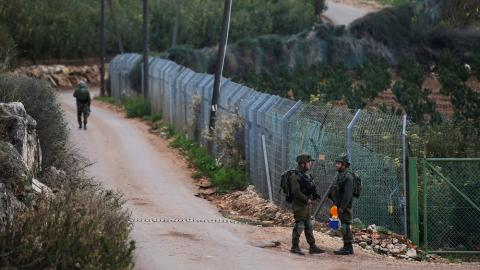 Israeli Army Arrests Lebanese Man for Jumping Border Fence