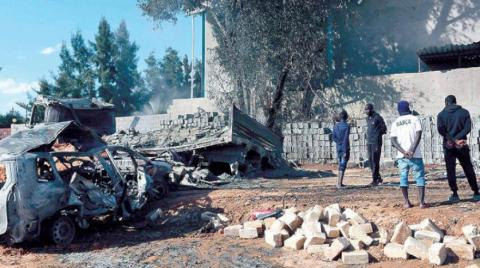 LNA Says it Destroyed Turkish-Delivered Armored Vehicles in Misrata